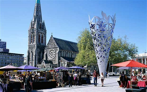Christchurch workplace accident